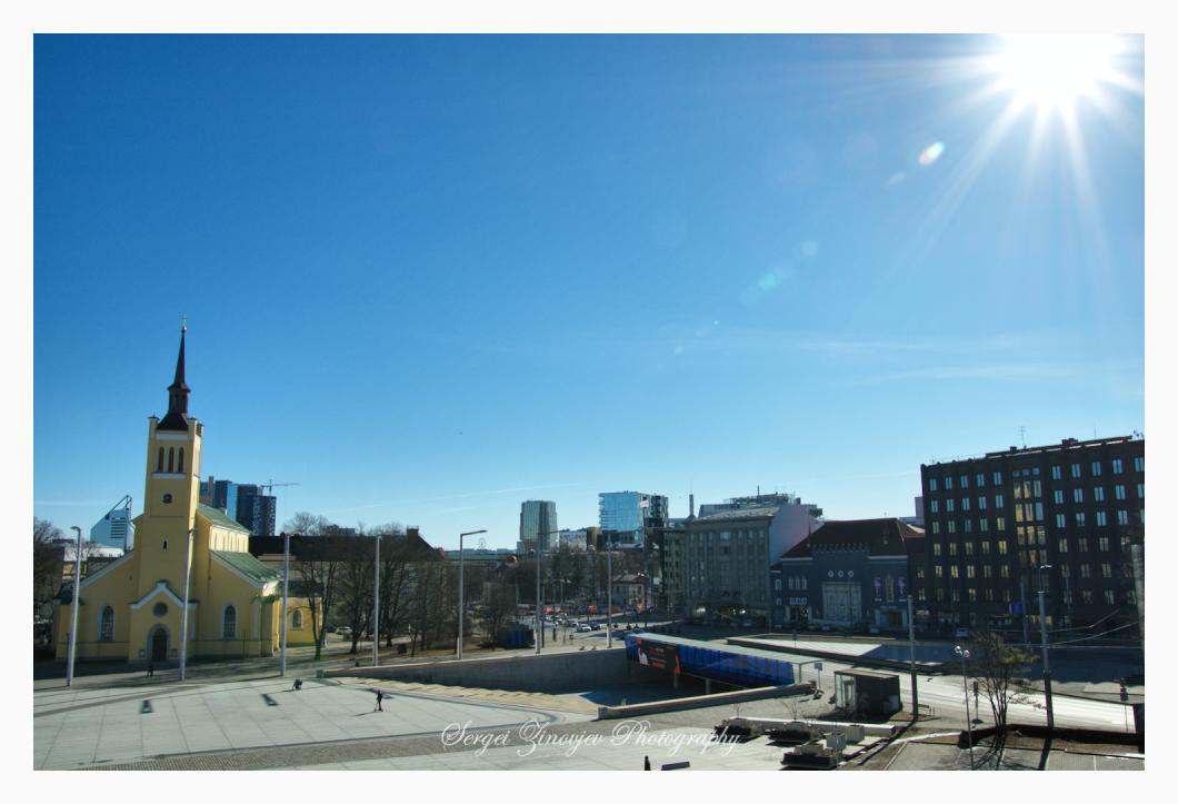 Tallinn in March 2021