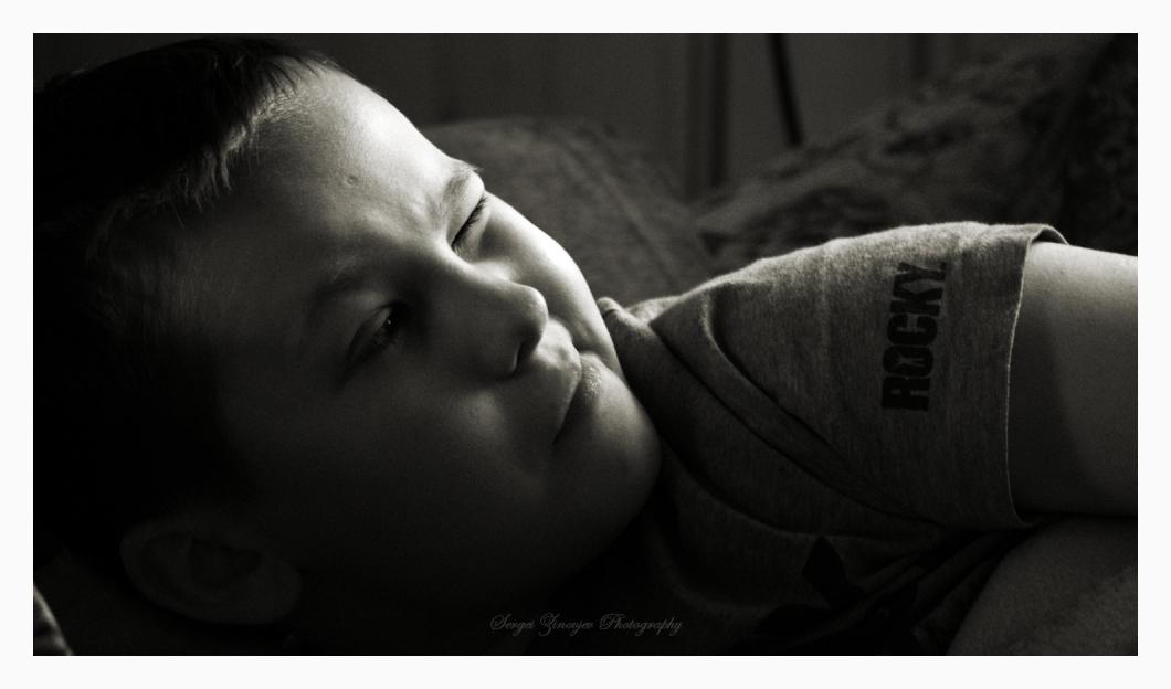 portrait of boy