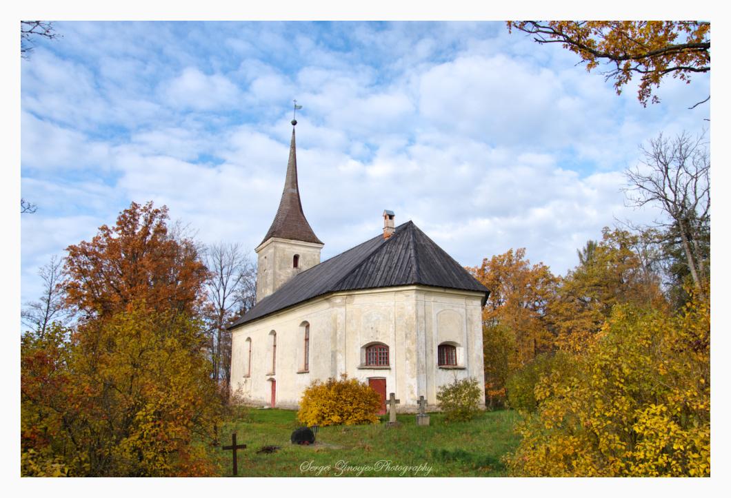 Church building in Anna parish, Estonia