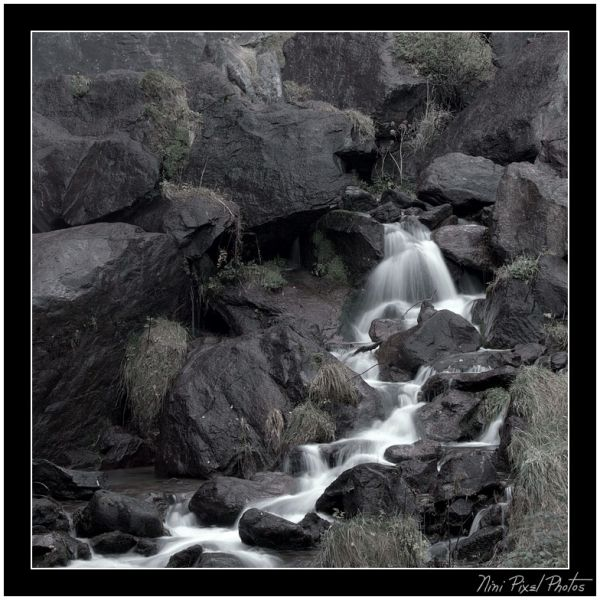 Small waterfalls...