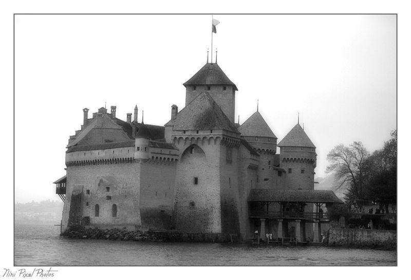 An another one of Castle Chillon