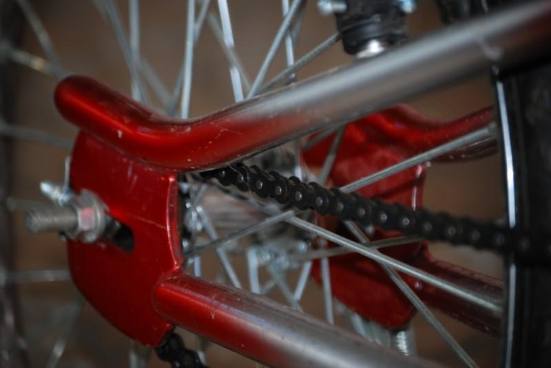Bike Tire and Chain