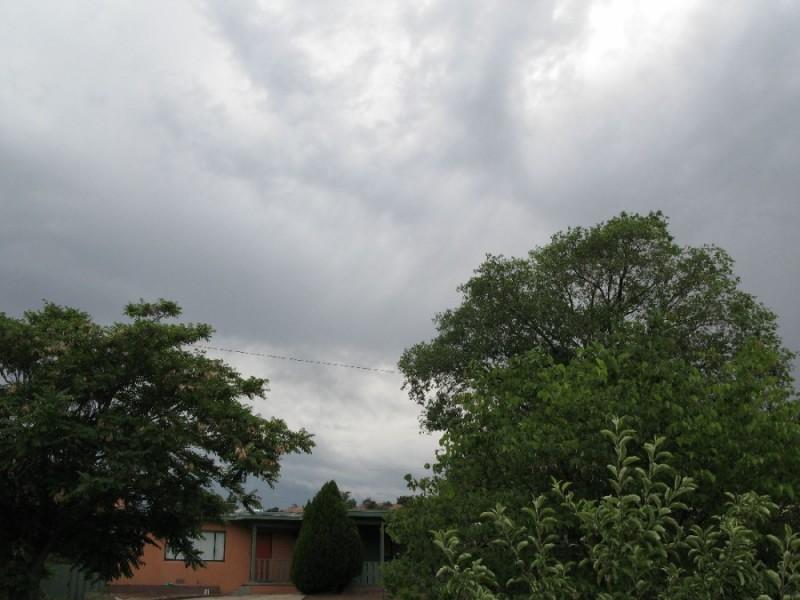 Santa Fe storm rolling in