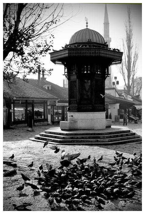 Photo of Sebilj, Sarajevo Bosnia