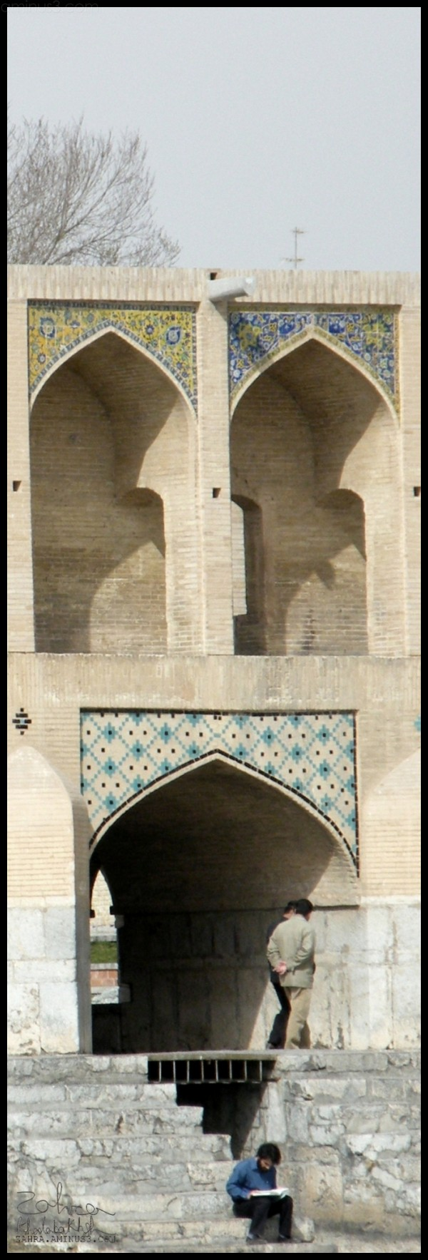 Khajoo(or Khaju) Bridge In ESFAHAN