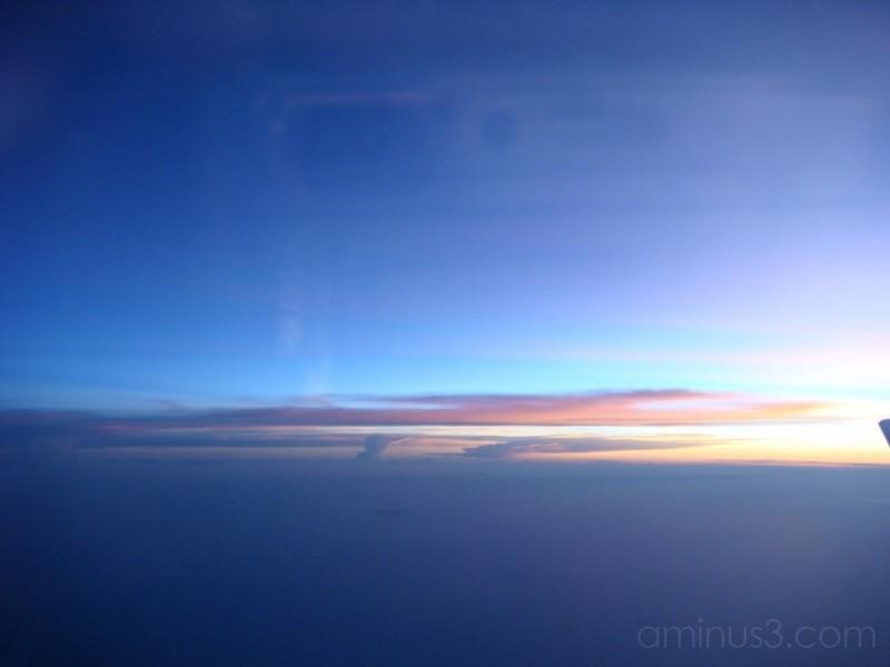 blue blue sky...