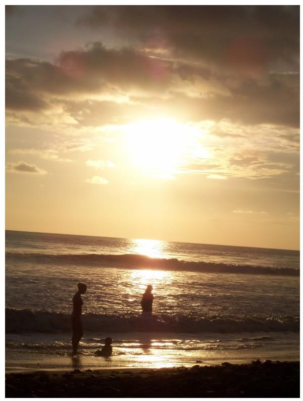 Sunset on Dominical Beach, Costa Rica