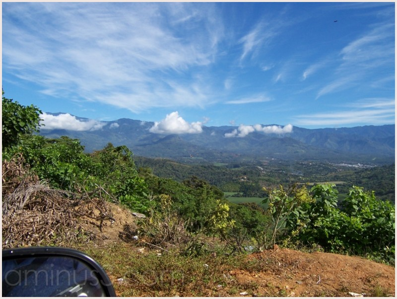 Sky above San Isidro del General, Costa Rica