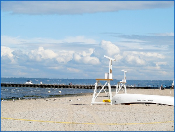 Gorgeous day at the beach in Rochester, NY