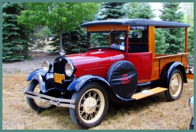 Antique Car in Emerson Park, Auburn, NY