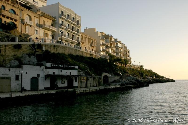 empty seaside resort