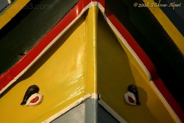 Gozitan Fisher Boat (Luzzu)