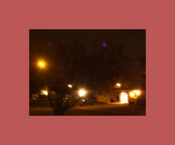 my street at midnight