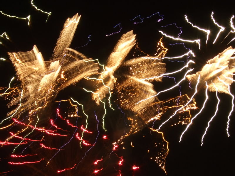 fireworks at light the night