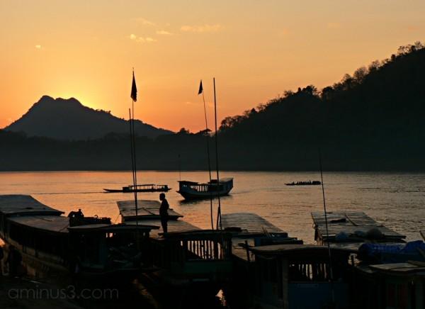 Mekong Sunset