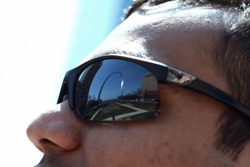 Arch on eyes