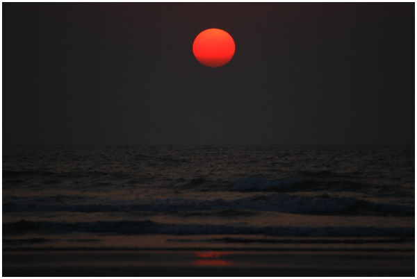 Sunset@Diveagar, India