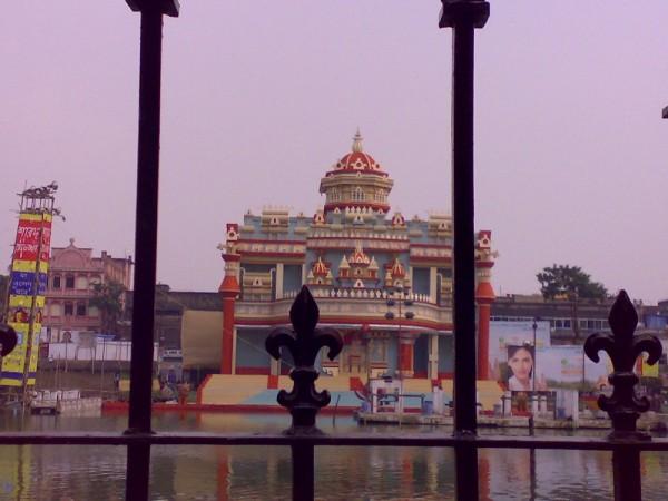 Durga Pandal at College Square