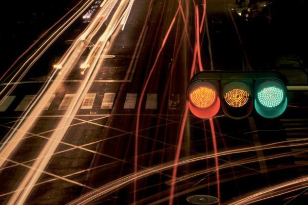 Traffic light, taipei. Taiwan.