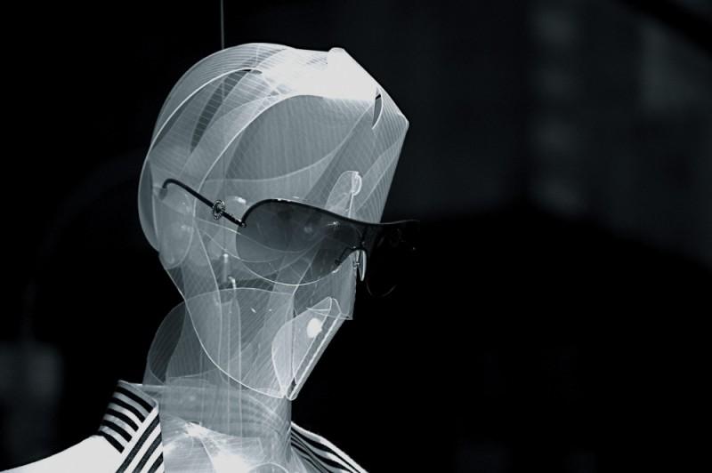 Estrange mannequin in New York City