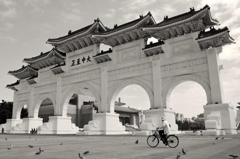 Chiang Kai-shek Memorial Hall main door