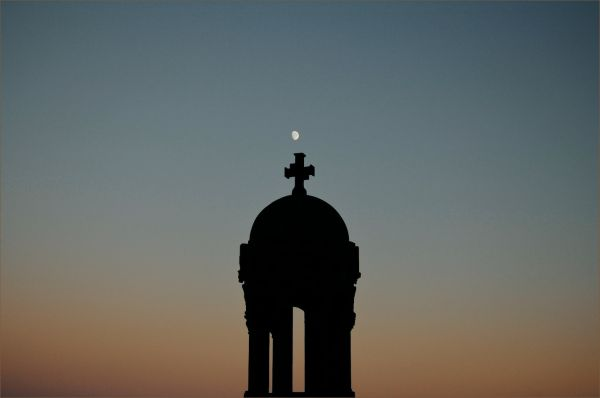 belfry align with the moon