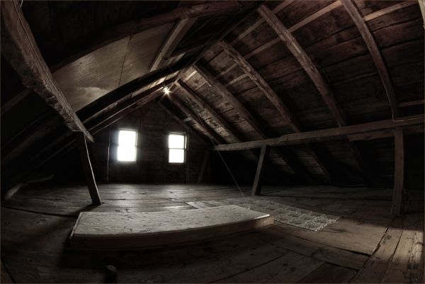 old house attic