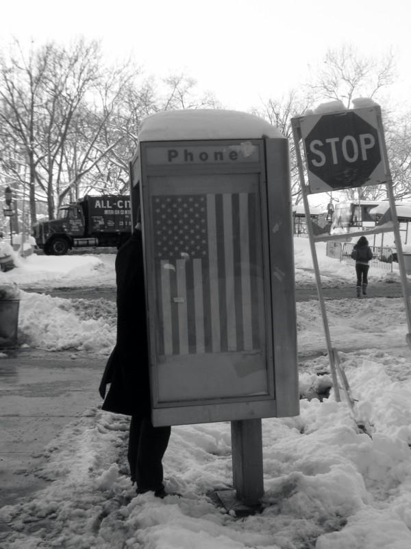 god bless phone box