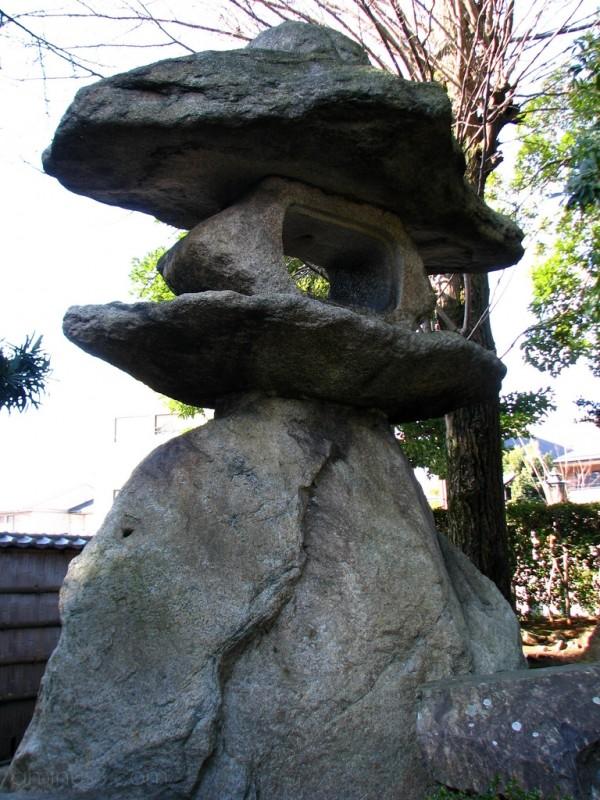 A stone lantern in Nagahama