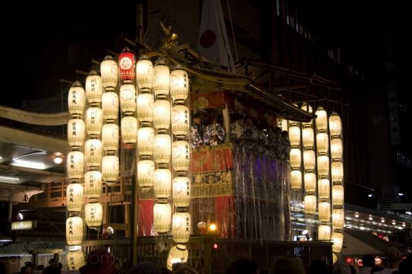Naginata at night