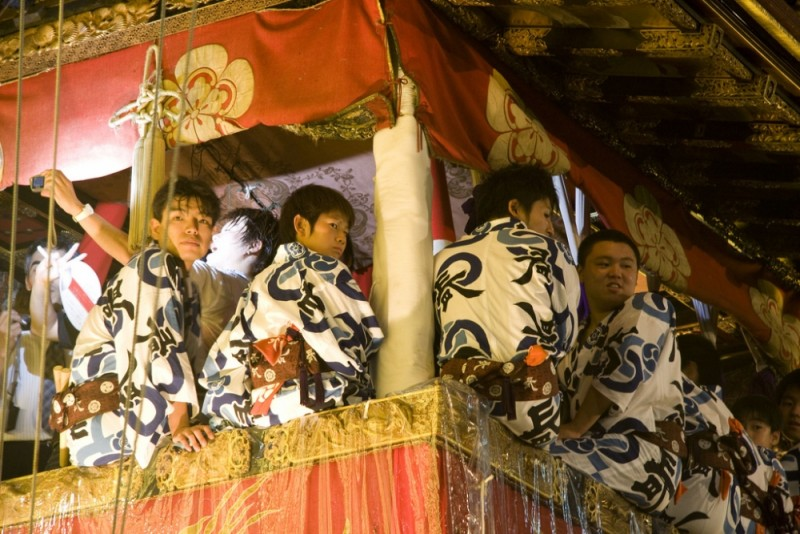 Naginata musicians
