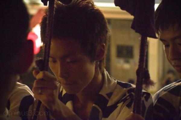 A musician in Naginata
