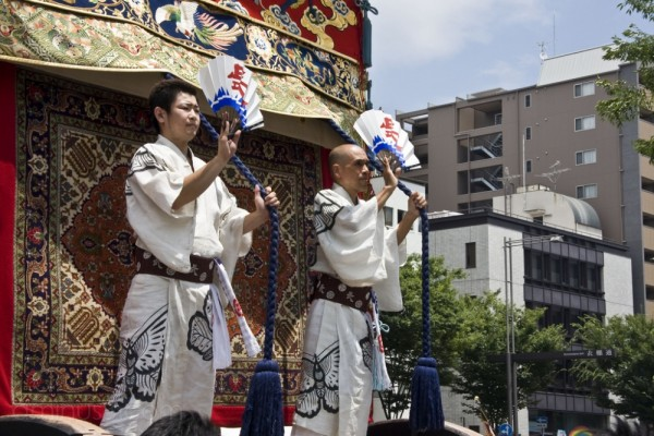 Naginata Boko at the Gion Festival