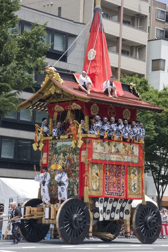 Kankoboko, in the Gion Festival