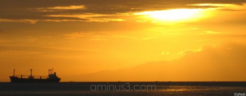 the usual manila bay sunset