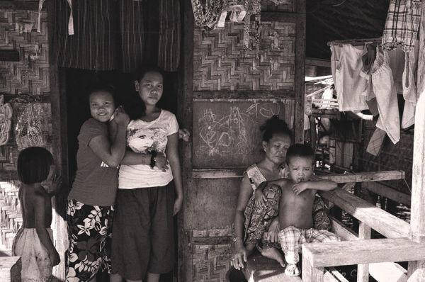 Badjao Family