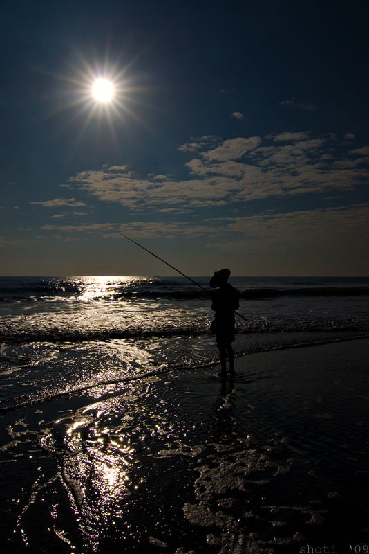 the lone angler