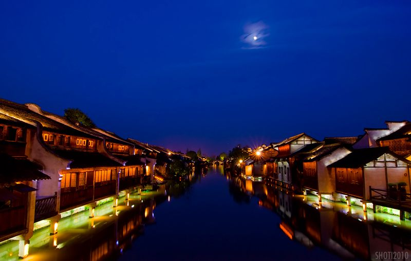 Moonrise over Wuzhen II