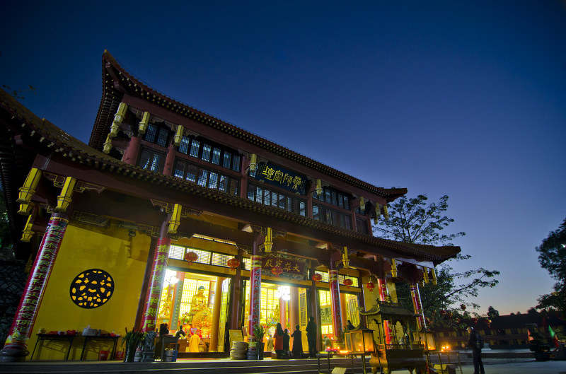 Zen Buddhist temple in Haicang district of Xiamen
