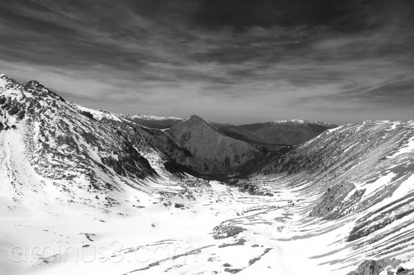 Vall nevada al Pirineu