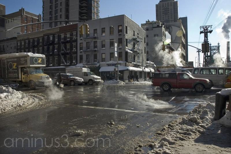 Traffic jam in Manhattan (2)