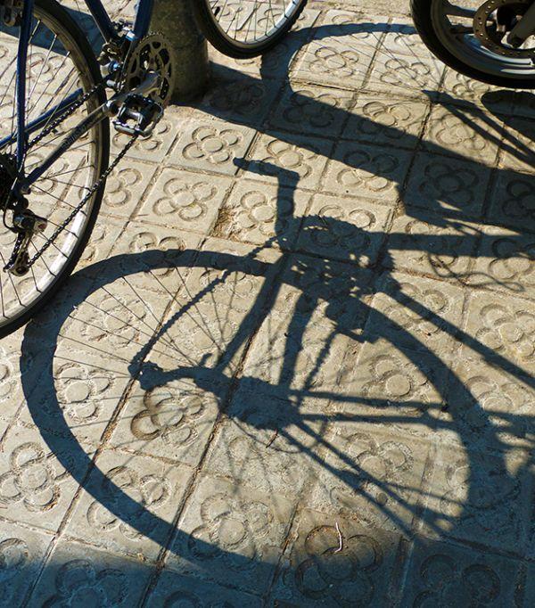 Ombra de bicicleta
