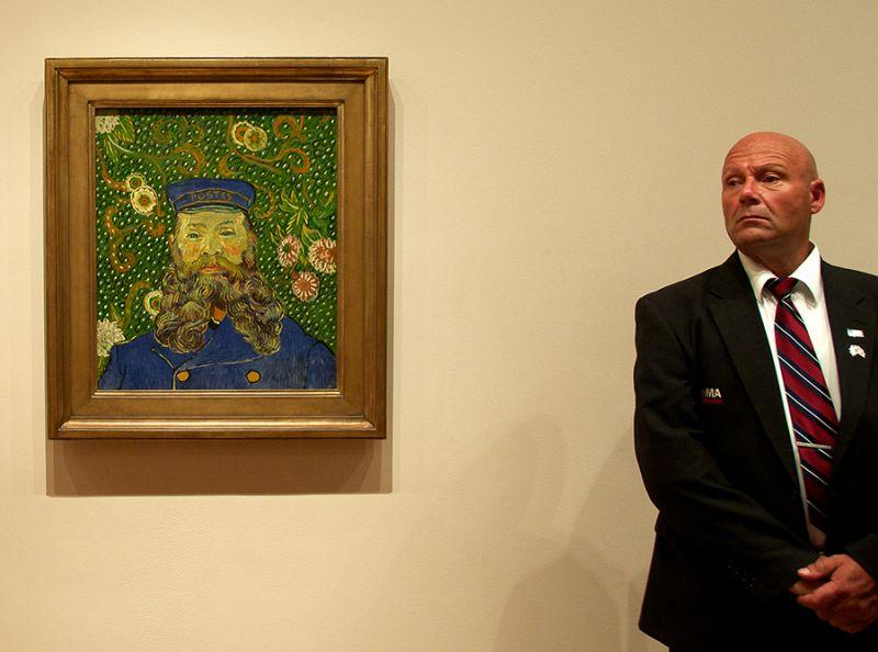 El guàrdia i el quadre
