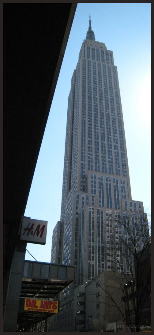 Empire State Building alternative view