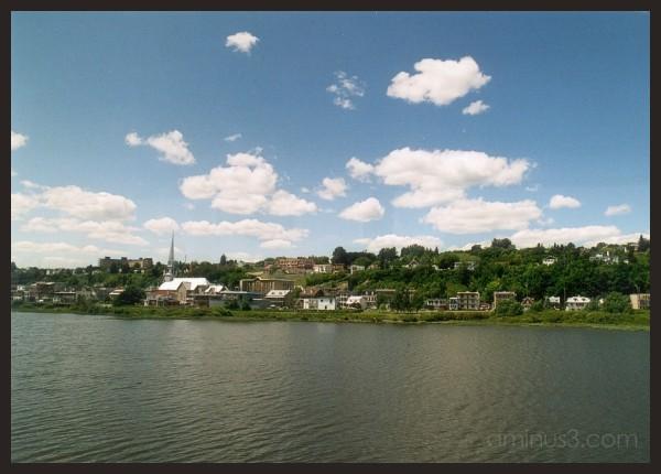 Across St. Lawrence River