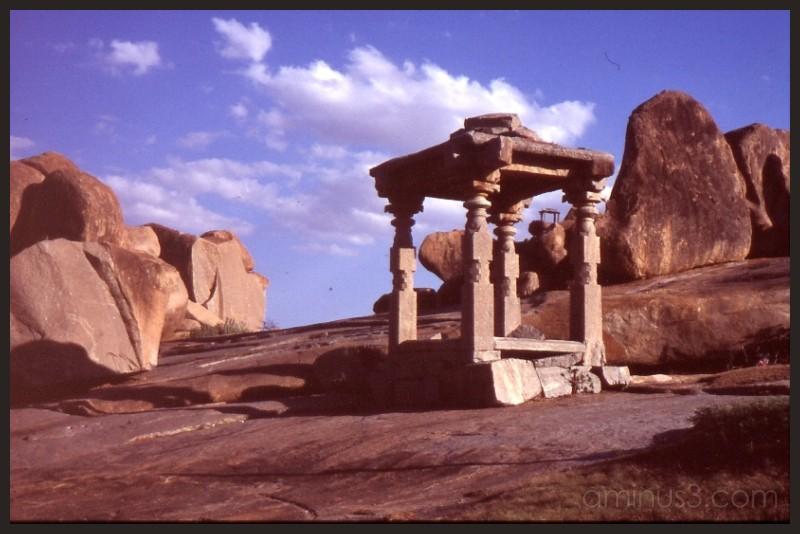 Hampi's ancient architecture