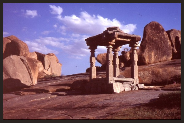 Hampi's ancient architecture
