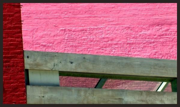 SoHo brick walls
