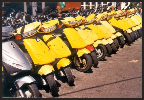 Yellow Motorcycles