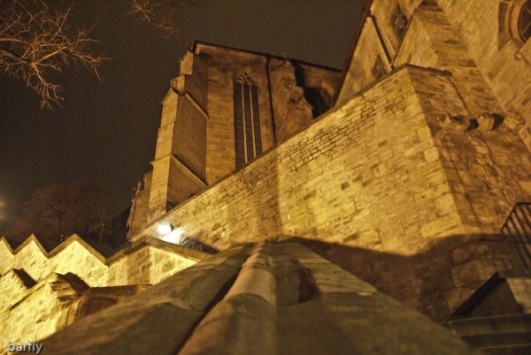 the dome of Erfurt, Germany, 01-2008
